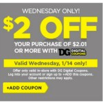 *HOT* Dollar General: $2 Off a $2.01 Purchase = ITEMS ONLY $0.01!
