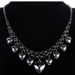 Amazon: Vintage Style Heart Design Silver Plated Metal Chain Necklace Only $3.32 Shipped (Reg. $13.28)