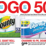 Target: Charmin & Bounty Products As Low As $6 (Thru 1/3)