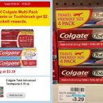 CVS: Colgate Travel Multipack Only $0.33 Per Tube (Thru 2/7)