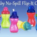 FREE Nuby Designer Series Flip it Sippy Cups!?