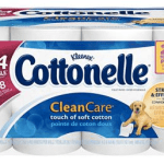 *HOT* 24 pack of Cottonelle Clean Care Toilet Paper Double Rolls Only $6.97 Shipped!