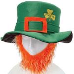Amazon: St Patricks Day Costume Leprechaun Hat And Orange Beard Only $5.42 Shipped