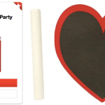 Target: 40% Off Spritz Valentine's Party Favors = Chalkboard Heart Stickers Only $0.30!