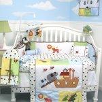 Amazon: Noah Ark Baby Crib Nursery Bedding 13 Pcs Only $77.77 Shipped (Reg. $179.98)