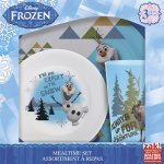 Amazon: 3-Piece Meal Time Set with Olaf & Sven Only $9.44 (Reg. $14.99)