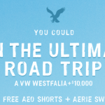 Ultimate Road Trip Instant Win Game & Sweepstakes (Win AEO Shorts or Aerie Bathing Suit Instantly)