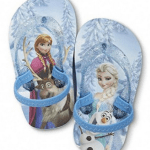 Amazon: Disney Frozen Girl's Flip Flops Anna & Elsa Size 5/6 Only $9.99 (Reg. $24.99)
