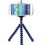 Portable and Adjustable Tripod Stand Holder for iPhone, Cellphone, Camera ONLY $3.69 + FREE Shipping!