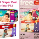 Target: Diapers As Low As $21.12 (Starting 4/12)