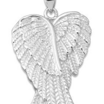 Amazon: Sterling Silver Double Angel Wings Heart Pendant with 18″ Chain Only $28.75 (Reg. $79.99)