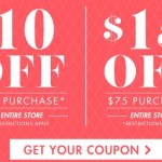 Big Lots Coupon: $10 off a $50 purchase or $15 off a $75 purchase!