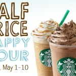 Starbucks: 50% off ANY size, ANY flavor Frappuccino Blended Beverages!