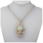Amazon: 14K Rose Crystal Monkey Necklace Only $5.32 Shipped