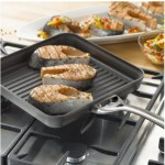 Calphalon Hard-Anodized Aluminum Nonstick Cookware, Square Grill Pan ONLY $29.99 (Reg. $90)!