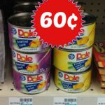 CVS: Dole Tropical Fruit or Pineapple Wedges Only $0.60