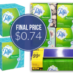 Puffs Facial Tissue Boxes ONLY $0.74!