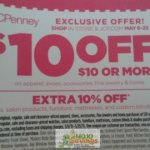 JcPenney: $10 Off $10 Purchase Coupon?! = FREE Items!