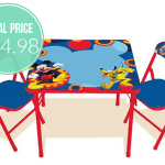 Mickey Mouse Erasable Activity Table Set with Markers Only $24.98 Shipped (Reg. $59.98)!