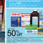 Walgreens: Band-Aid Products and Hydrogen Peroxide Only $0.78 + FREE First Aid Bag
