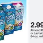 Target: Blue Diamond Almond Breeze Almond Milk Only $1.99