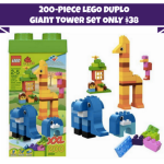 *HOT* 200-piece LEGO DUPLO Giant Tower with Storage Box Only $38 Shipped (Reg. $69.97!)