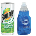 Walgreens: Bounty Paper Towels Only $3.61 & FREE Dawn Dish Soap Or Puffs