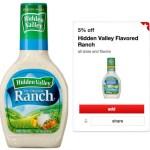 Target: Hidden Valley Ranch Dressing Only $0.89