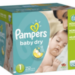Amazon Mom Members: Pampers Baby Dry Size 1 Diapers Only $29.79 Shipped (Reg. $53.09)