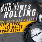 Skoal: FREE Tire Gauge
