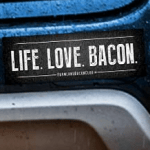 FREE Bacon Bumper Sticker Sets (250 Winners)