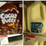 *HOT* Target: 3 Cocoa Puffs Cereal AND 1 Gallon of Milk ONLY $6.72!