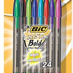 FREE Pack of BIC Cristal Pens!