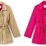 *HOT* Girls' Polka Dot Belted Trench Coat Only $12.48 Shipped (Reg. $24.99)
