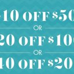Big Lots: High Value $10 off $50, $20 off $100, or $40 off $200 Coupon