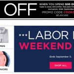 *HOT* Kohl's: $10 off $30 Coupon (In-store AND Online) + $10 in Kohl's Cash (WORKS ON CLEARANCE)