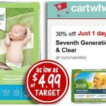 Target: Seventh Generation Diapers Only $4.99