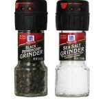 Target: McCormick Sea Salt & Black Peppercorn Grinders Only $0.99