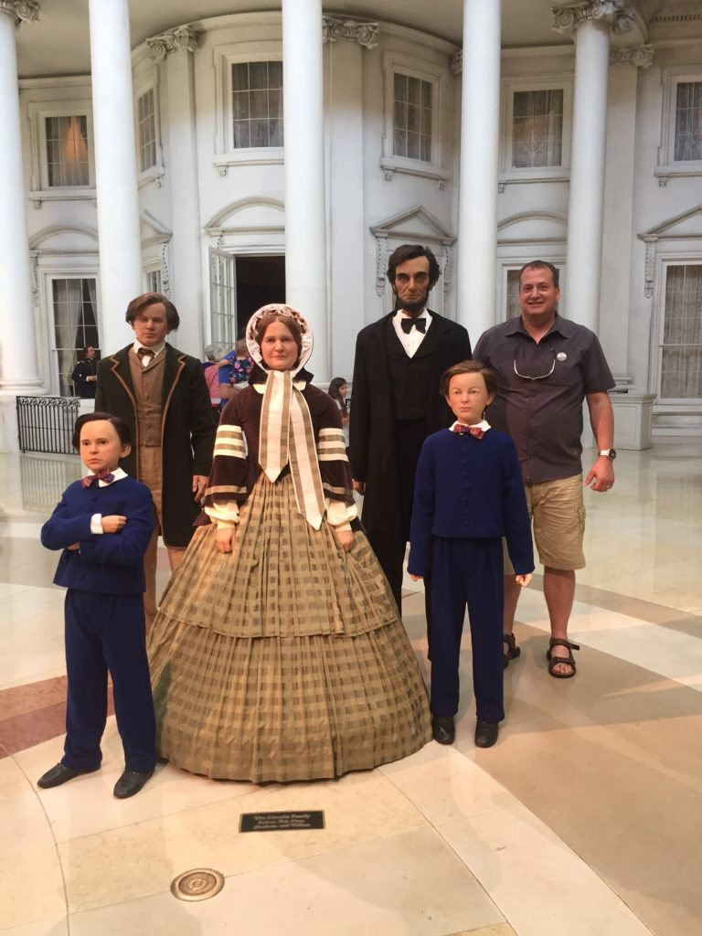Abraham Lincoln museum with Lane