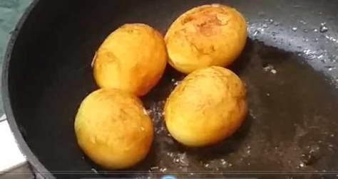 eggpapayacuryeggfry