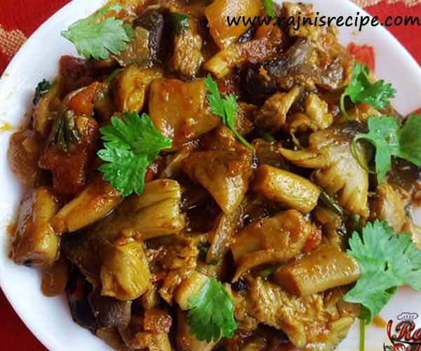 Straw Mushroom Recipe – Easy delicious veg straw mushroom recipe at home