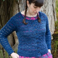 Hetty Cardigan- A Blue Sweater for a Blue State