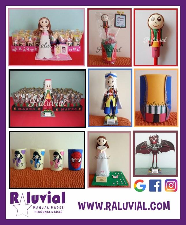 Raluvial fiestas y comuniones 2018