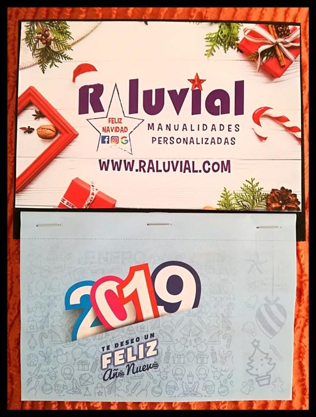 CALENDARIO RALUVIAL 2019