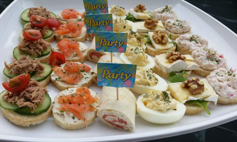 Makkelijke party hapjes