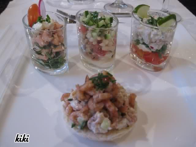 5 gangen menu idee n met vis - Ideeen van voorgerecht ...