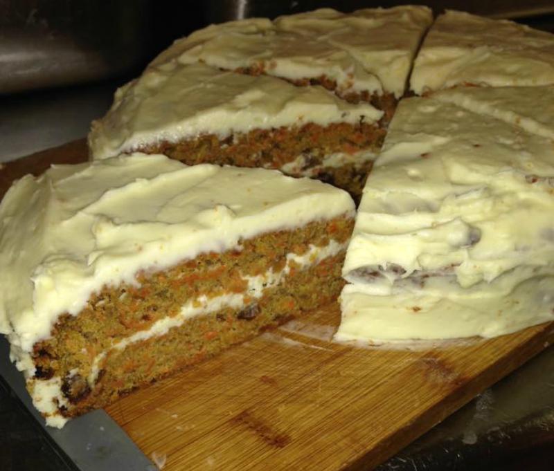 Carrot cake (worteltaart)