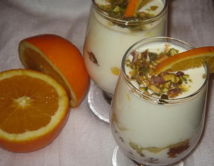 Yoghurt sinaasappeltoetje