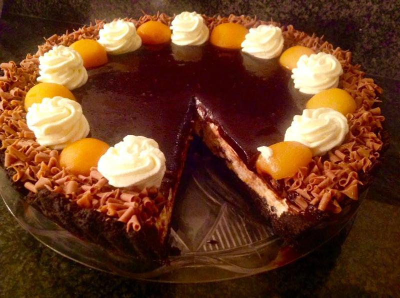 Oreo chocoladetaart zonder oven
