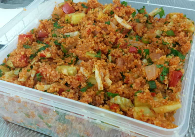 bulgur recept